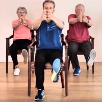 Ga naar de oefenserie van 9 minuten bewegen