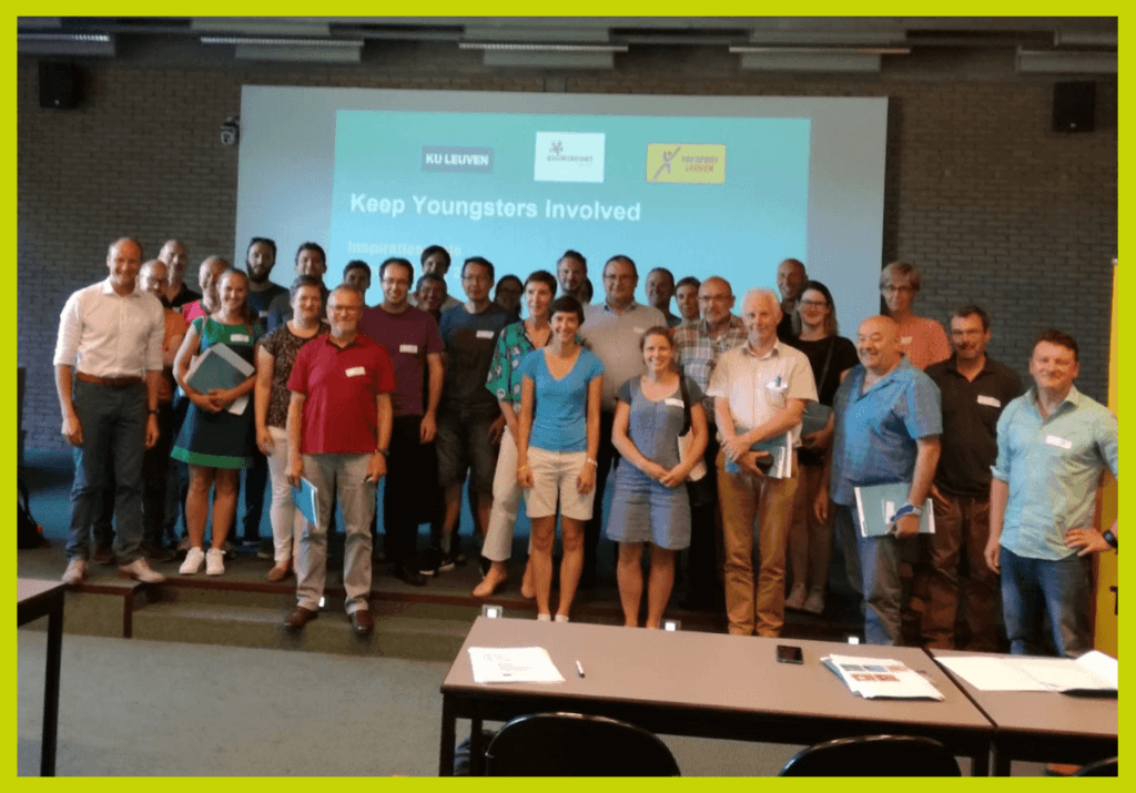 National meeting Belgium group picture