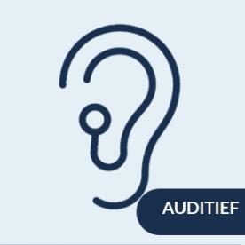 inclusieve BVO voor mensen met een auditieve beperking