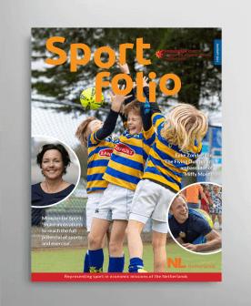 Cover Sportfolio magazine - January 2021