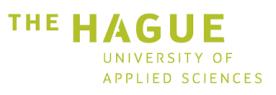 Logo the Haque University of applied sciences